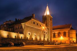 Muzeum Filumenistyczne, Baszta Rycerska, widok od ul. Międzyleśnej
