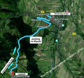mapa trasy Biegu Bystrzyckiego 21 km.jpeg