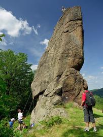 Pasterskie skały w Idzikowie