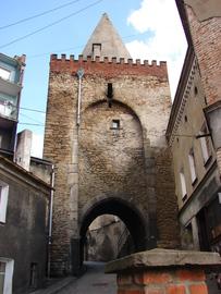 XIV wieczna Brama Wodna przed remontem